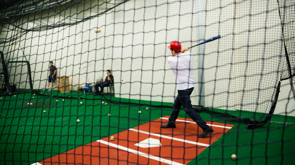 Exclusive batting cage access...and more!
