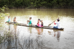 Glimpse rare photos of the remote Peruvian Amazon and see how our vitamins are making an impact.