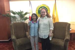 Philippines Health Secretary Expresses Support for Vitamin Angels' Efforts
