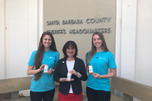The Santa Barbara County Sheriff's Office will be able to provide prenatal vitamins to incarcerated women who are being released from jail. Vitamin Angels, a global charity based in Santa Barbara, awarded the Santa Barbara County Sheriff's Office with a six-month supply of prenatal vitamins.