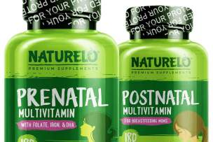 NATURELO Partners with Vitamin Angels for Mother's Day